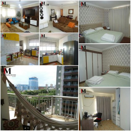 Vendemos lindo apartamento com 4 suítes  no residencial Barão dos Solimões