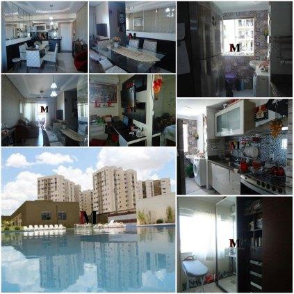 Vendemos apartamento com 3 quartos no Residencial Águas do Madeira