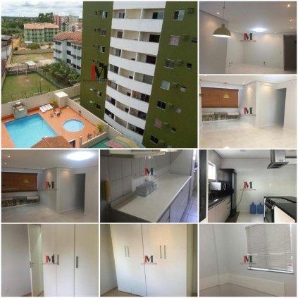 Vendemos apartamento com 3 quartos - semi mobiliado no Residencial Pinhais
