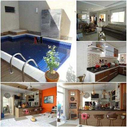 Vendemos linda casa no Residencial Green Ville com piscina