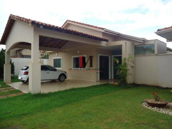 Vendemos casa com 3 quartos em condomínio fechado - apta a financiamento
