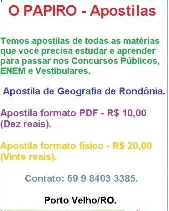 O PAPIRO - Apostilas.