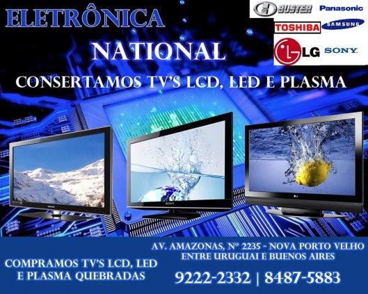 consertos de tv de lcd led e plasma