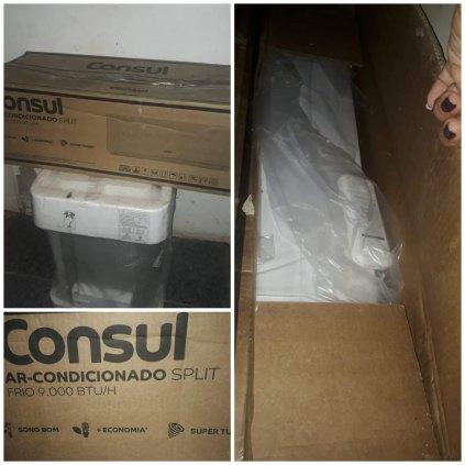 Central de ar condicionado CONSUL 9000 BTU