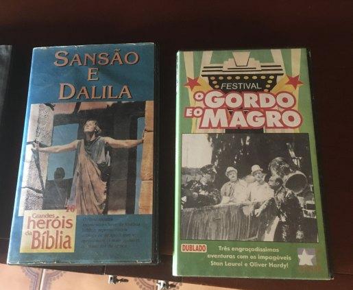 Clássicos em VHS