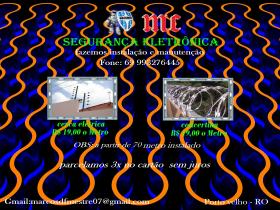 Cerca elétrica /concertina