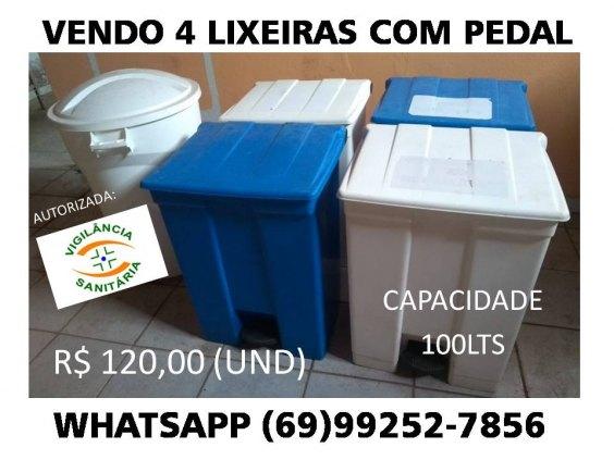 LIXEIRA COM PEDAL