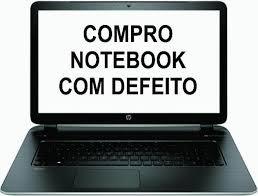 Comproo notebook ultrabook netbook com defeito tela
