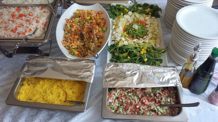 buffet,almoço e jantares