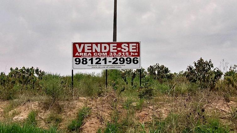 Investidores e compradores,  Invista em área com frente para BR 364.