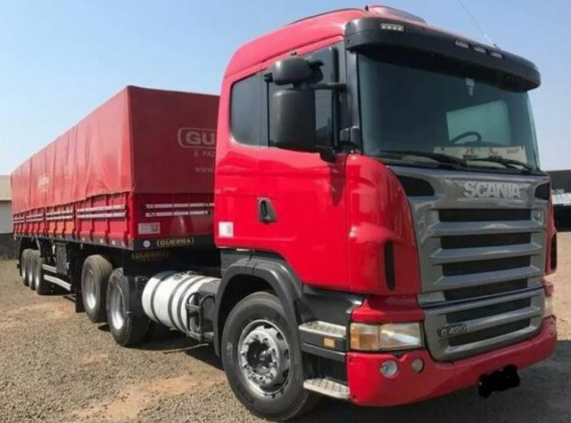Scania G420 6x2 2009/LS Guerra 2013 Diesel Manual Completo 650.KM.