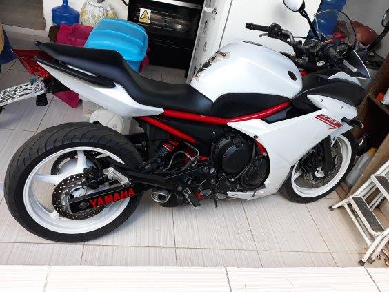 Moto Yamaha XJ6-F 2013 Super Conservada