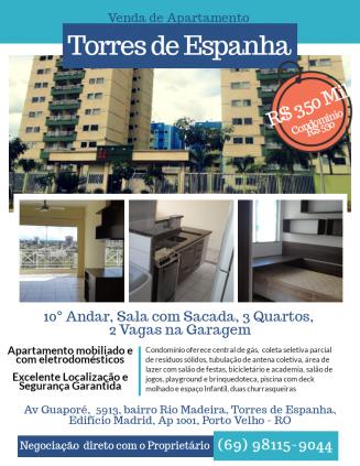 Apartamento 10° Andar Torres de Espanha