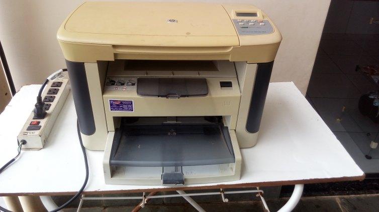 Vendo ou troco impressora multifuncional HP laserjet M1120