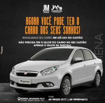 COMPRE SEU CARRO COM APENAS O VALOR DA PARCELA NO SEU CARTÃO DE CREDITO