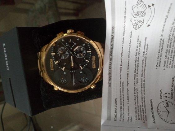 Relógio Masculino Original Oriente
