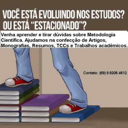 Orientação a Trabalhos Acadêmicos.