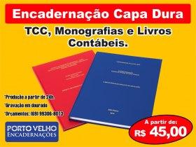 Encadernação de TCC e Monografia