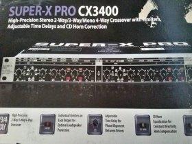 Crossover Behringer Super X Pro Cx3400 110volts Com Nota.