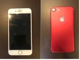 Iphone 7 Red 128 GB Com Nota e Acessórios