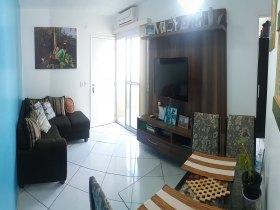 Apartamento, Cond. Residencial Lírio no Bairro Novo. Condomínio com ár