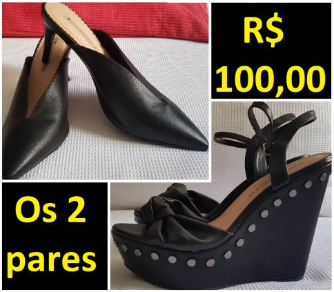 02 Sapatos nº 39