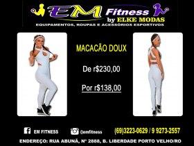 MACACÃO DOUX FITNESS