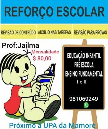 AULA DE REFORÇO