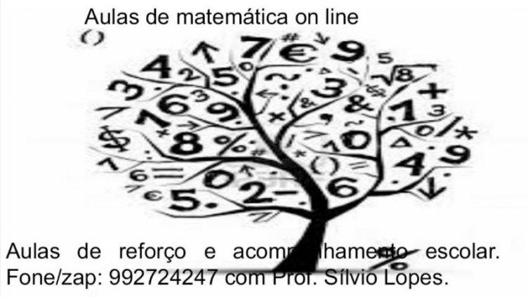 Aulas de matemática on line