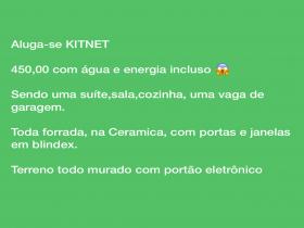 Aluga-se Kit net inclusa água e energia !!