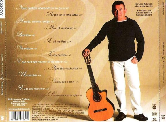Todas as músicas de Amado Batista.
