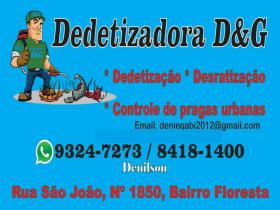 Dedetização  D&G
