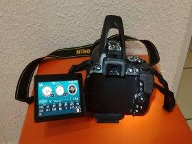 Câmera Nikon D5500 + Lentes + Cartões De Mem. + Acessórios