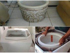 Consertamos e higienizamo máquina de lavar.
