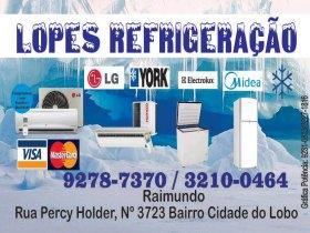 Geladeira e freezers