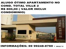 Apartamento no condomínio total Ville 2