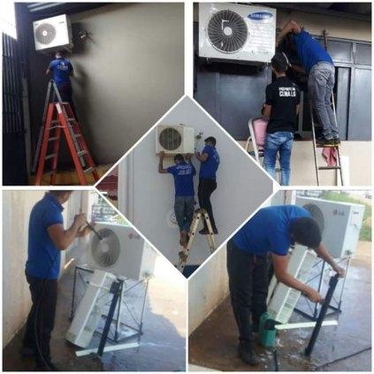 Especializada em consertos , instalações e limpezas de centrais de ar