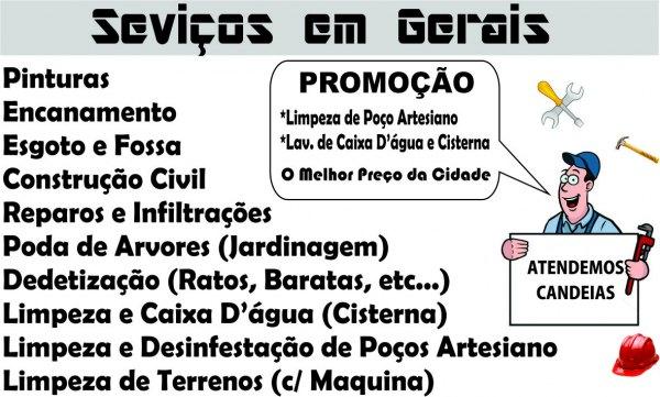 NOÉ Serviços em Gerais com Certificado.