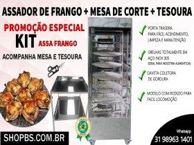 Promoção - Assador de frangos e carnes