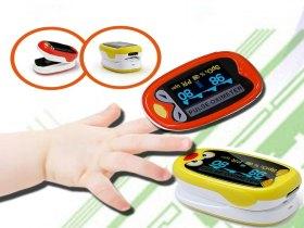 Oxímetro Pediátrico de pulso de dedo, Pronta entrega.