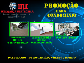 segurança eletrônica /promoção para empresas e condomínios