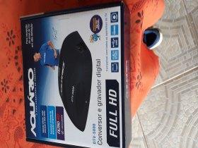 Vendo Conversor digital e gravador aquário