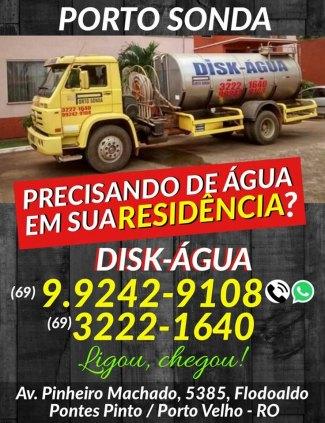CAMINHÃO PIPA ÁGUA POTÁVEL