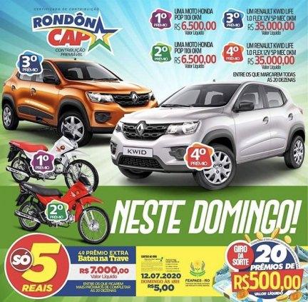 Gol vermelho Rondôncap Mamoré/Amazonas