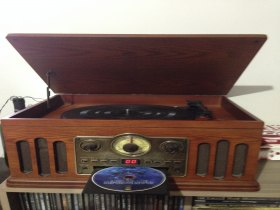 Vitrola Toca Discos LP/Tape/Cd