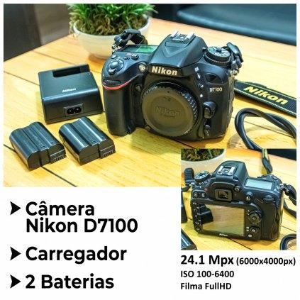 CAMERA DSLR NIKON D7100