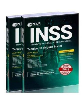 02 Volumes (novos) Para estudo concurso INSS