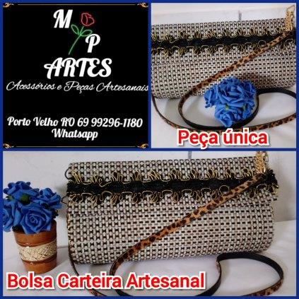 Bolsa Carteira Artesanal