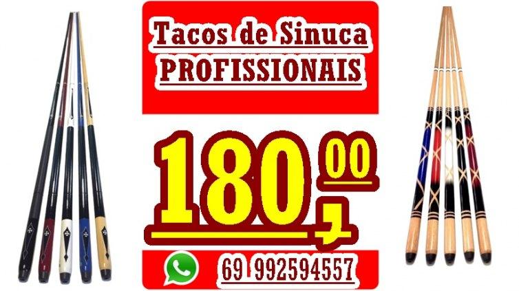 Tacos de sinucas profissionais