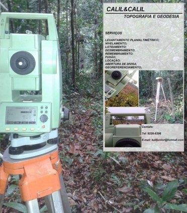 Serviço de topografia e georeferenciamento/Drone